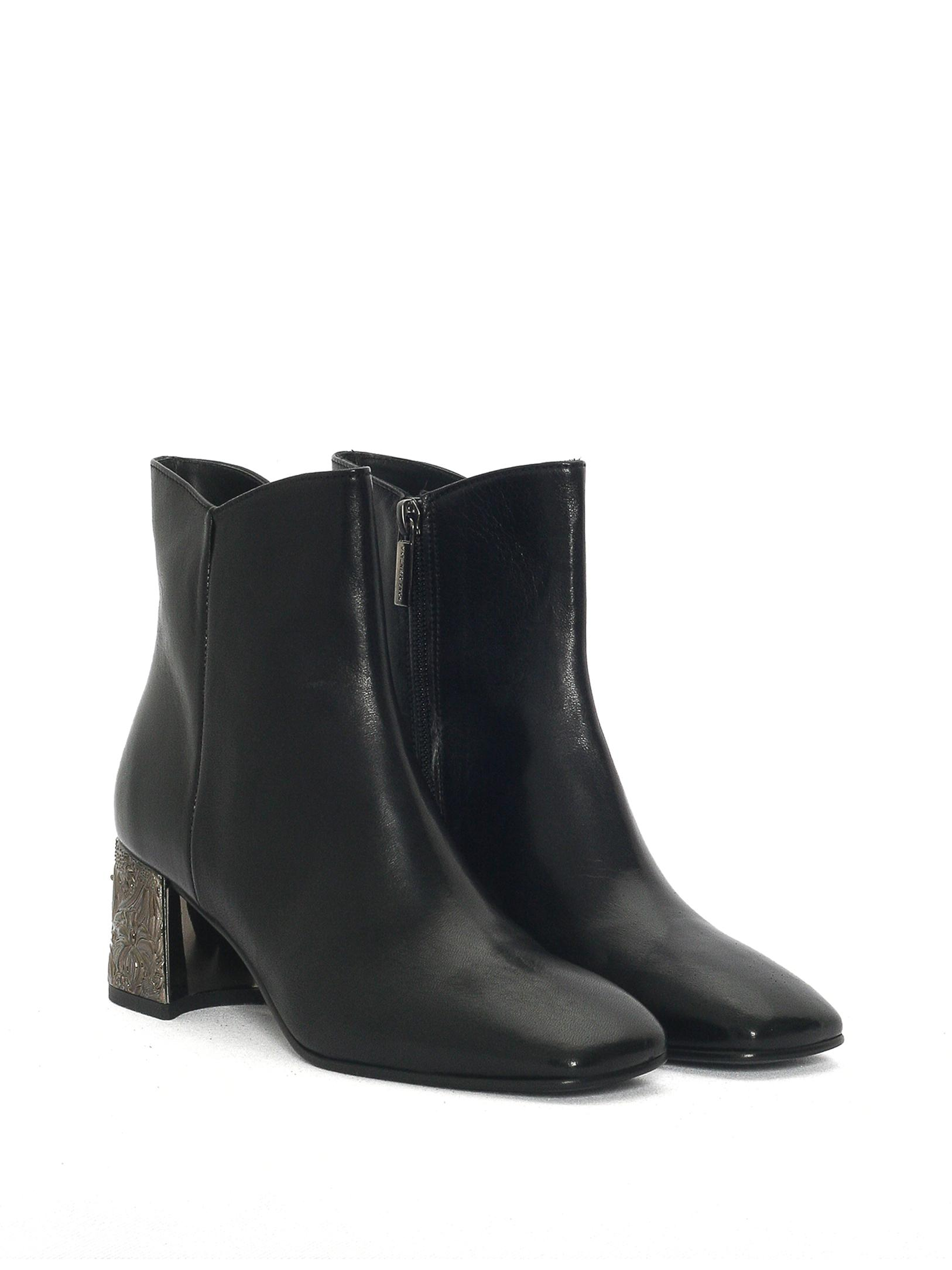BLACK TEQUILA ANKLE BOOT