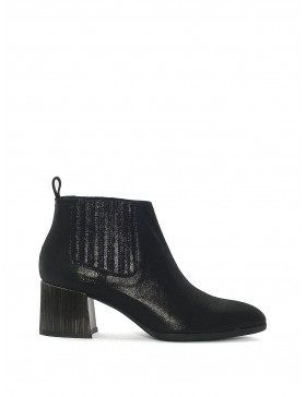 BLACK BURMA ANKLE BOOT