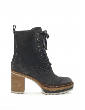 LAKE VELOUR ANKLE BOOT