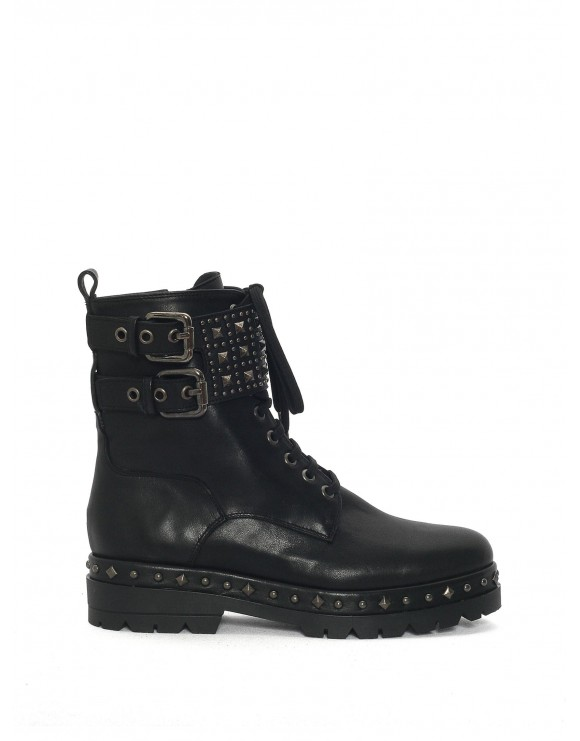 BLACK NAPPA BOOT