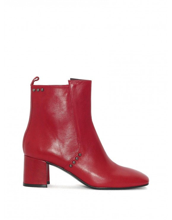 WINE TEQUILA ANKLE BOOT