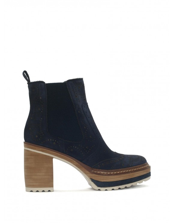 BOTIN NAVY VELOUR