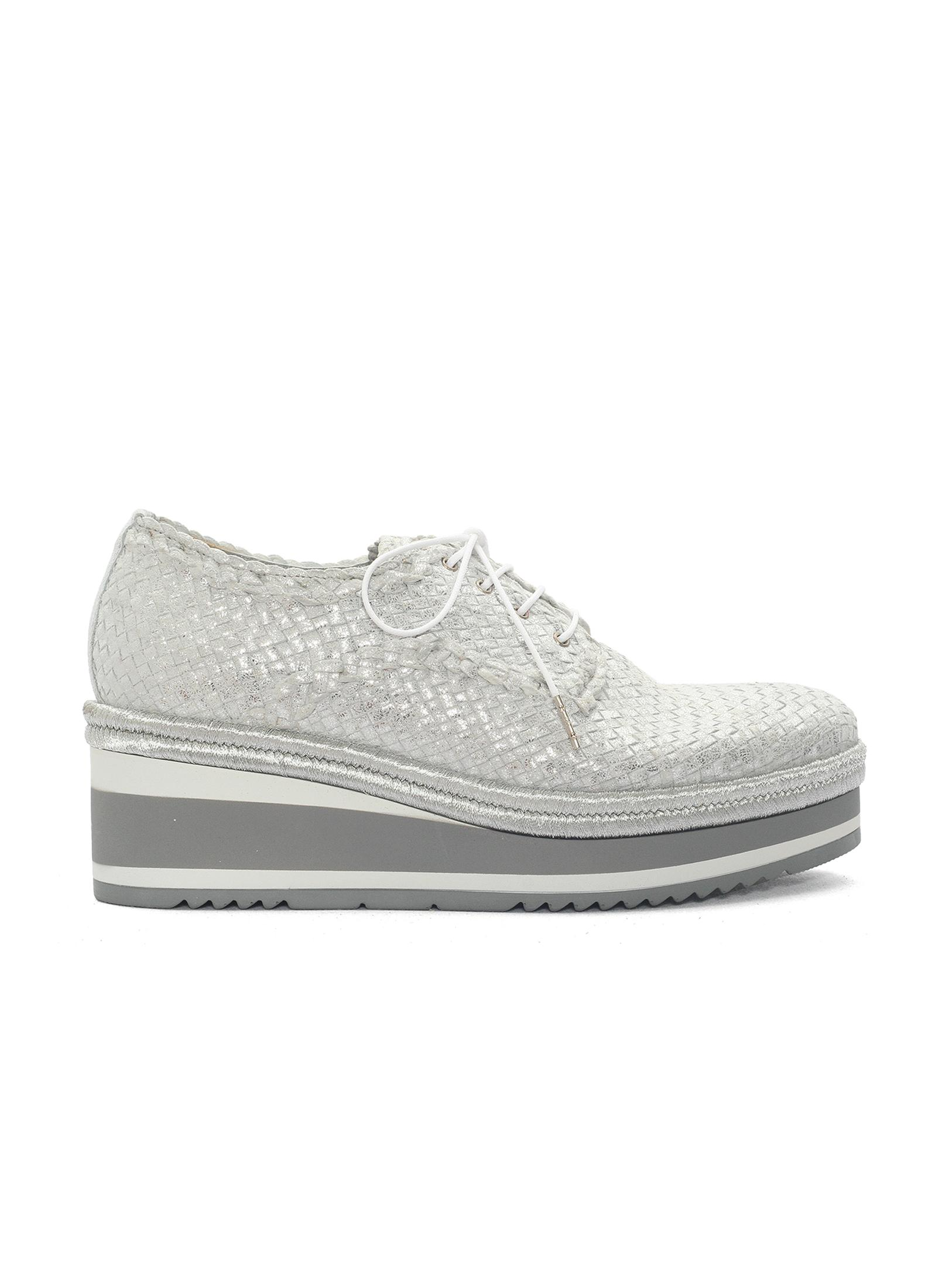 BRAIDED NAPA LEATHER SNEAKER
