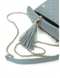 AZZURRO BRAIDED SHOULDER BAG