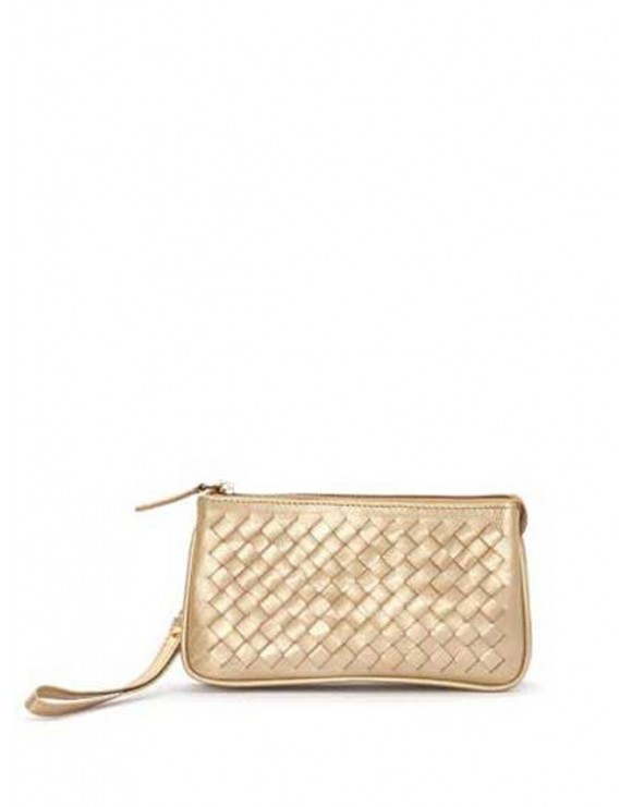 BRAIDED NAPPA LEATHER HANDBAG