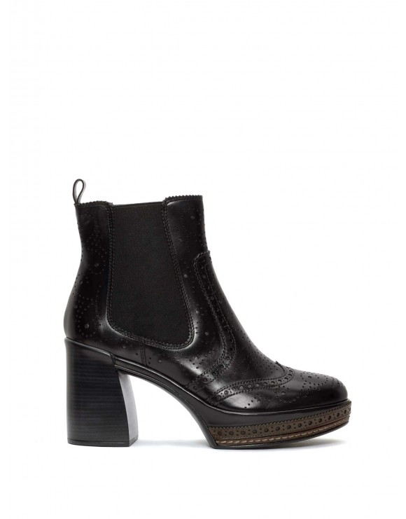 AMELIA NEPAL BLACK ANKLE BOOT