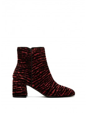 ESTHER CHERRY ZEBRINA ANKLE BOOT