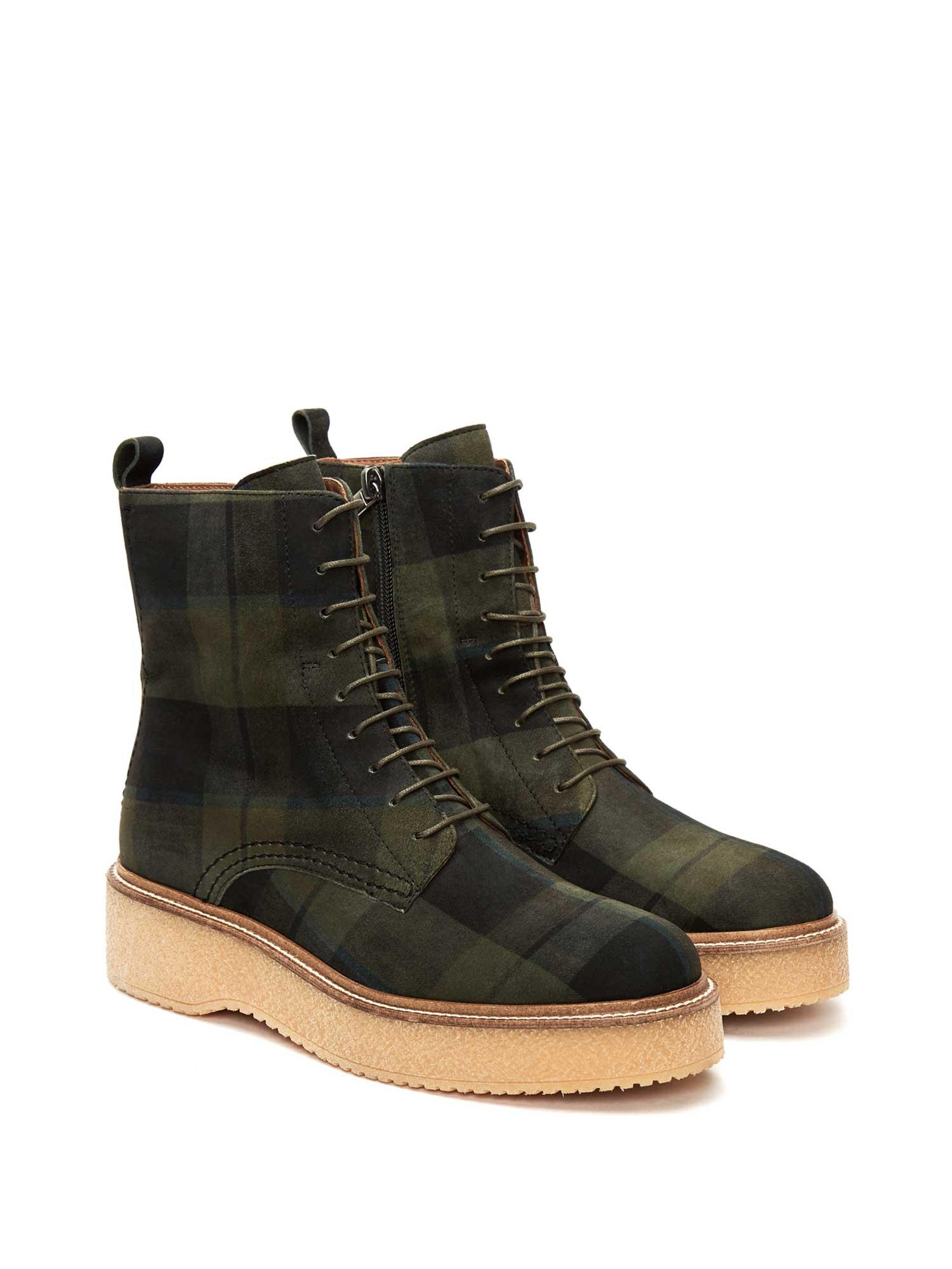 KIMBA SCOTISH MOSS ANKLE BOOT