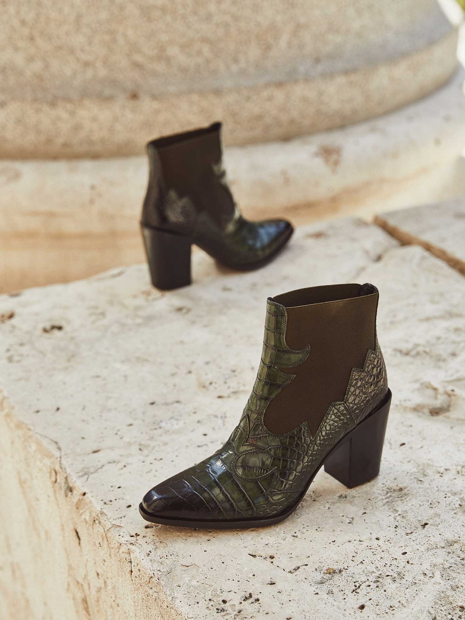 VIOLA COCCO MUSGO ANKLE BOOT