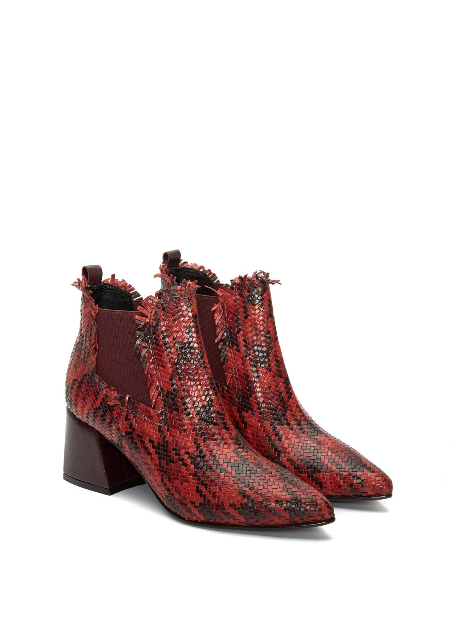 LIEJA TRZ PATA DE GALLO C14 ANKLE BOOT