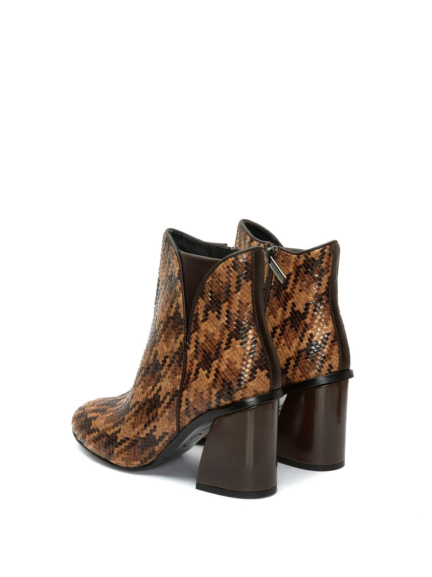 NATALI TRZ PATA DE GALLO C15 ANKLE BOOT
