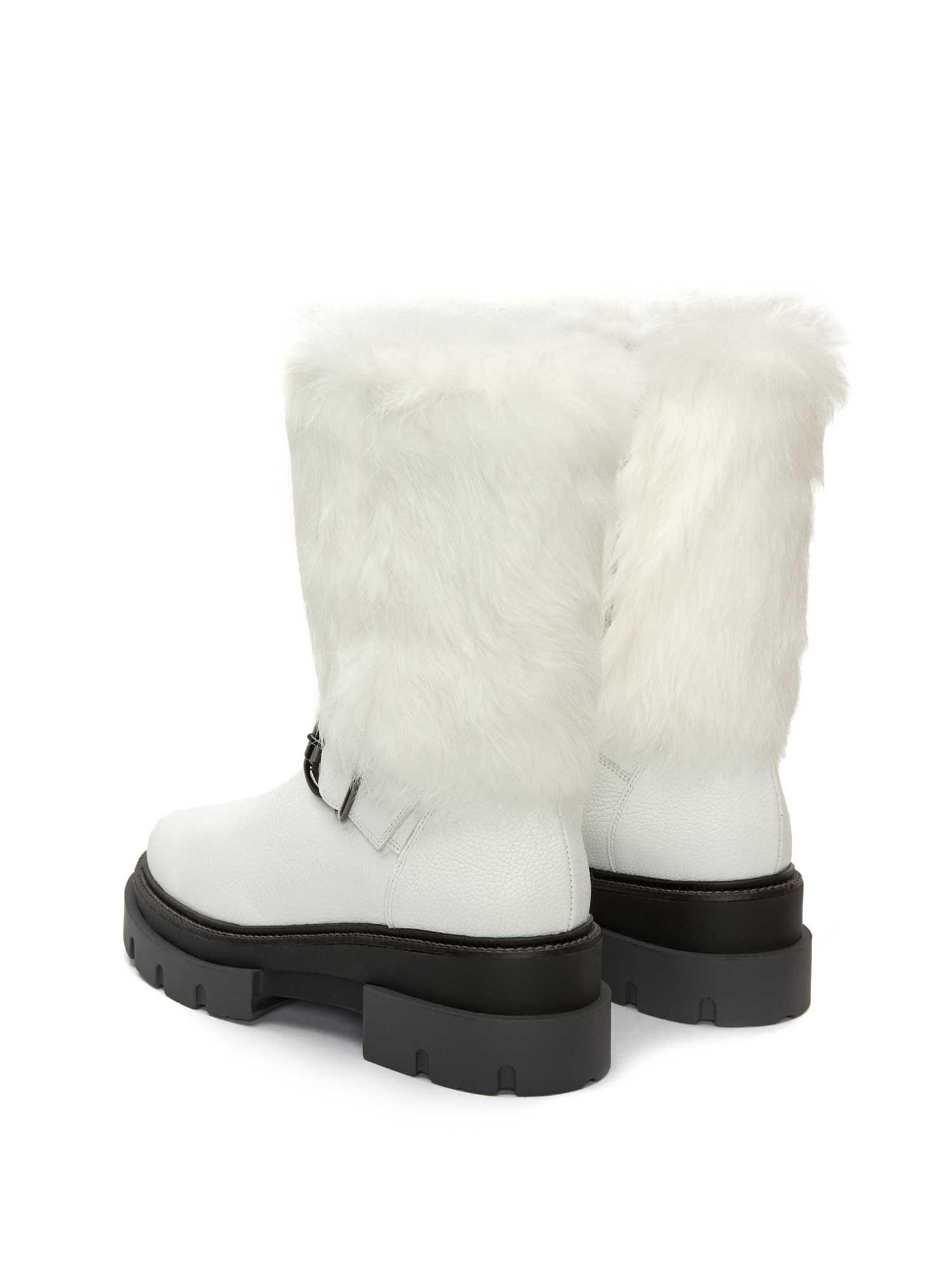DEBORA WHITE ELK ANKLE BOOT