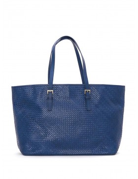 OCEAN BRAIDED NAPPA LEATHER HANDBAG