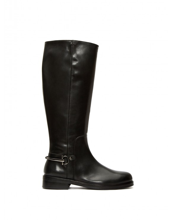 TERRY FOULARD BLACK BOOT