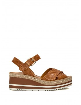 PADOVA LEATHER PLATFORM SANDAL
