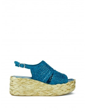 ERIKA SEA WEDGE SANDAL