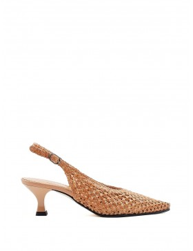 PAMELA IVORY PUMP SHOE