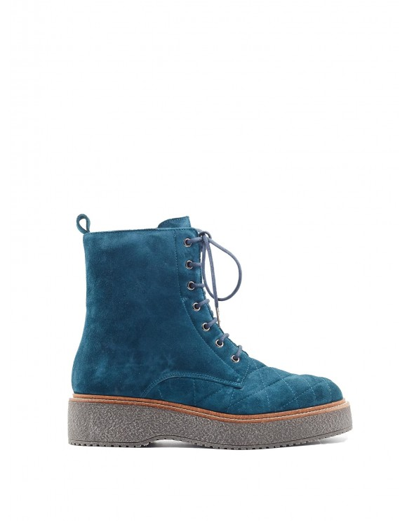 SKY BLUE KIMBA VELOUR BOOT