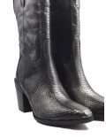 VIOLA ANTHRACITE AYERS COWBOY BOOT