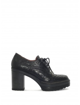 OLIVIA BLACK LACROIX HEELED SHOES