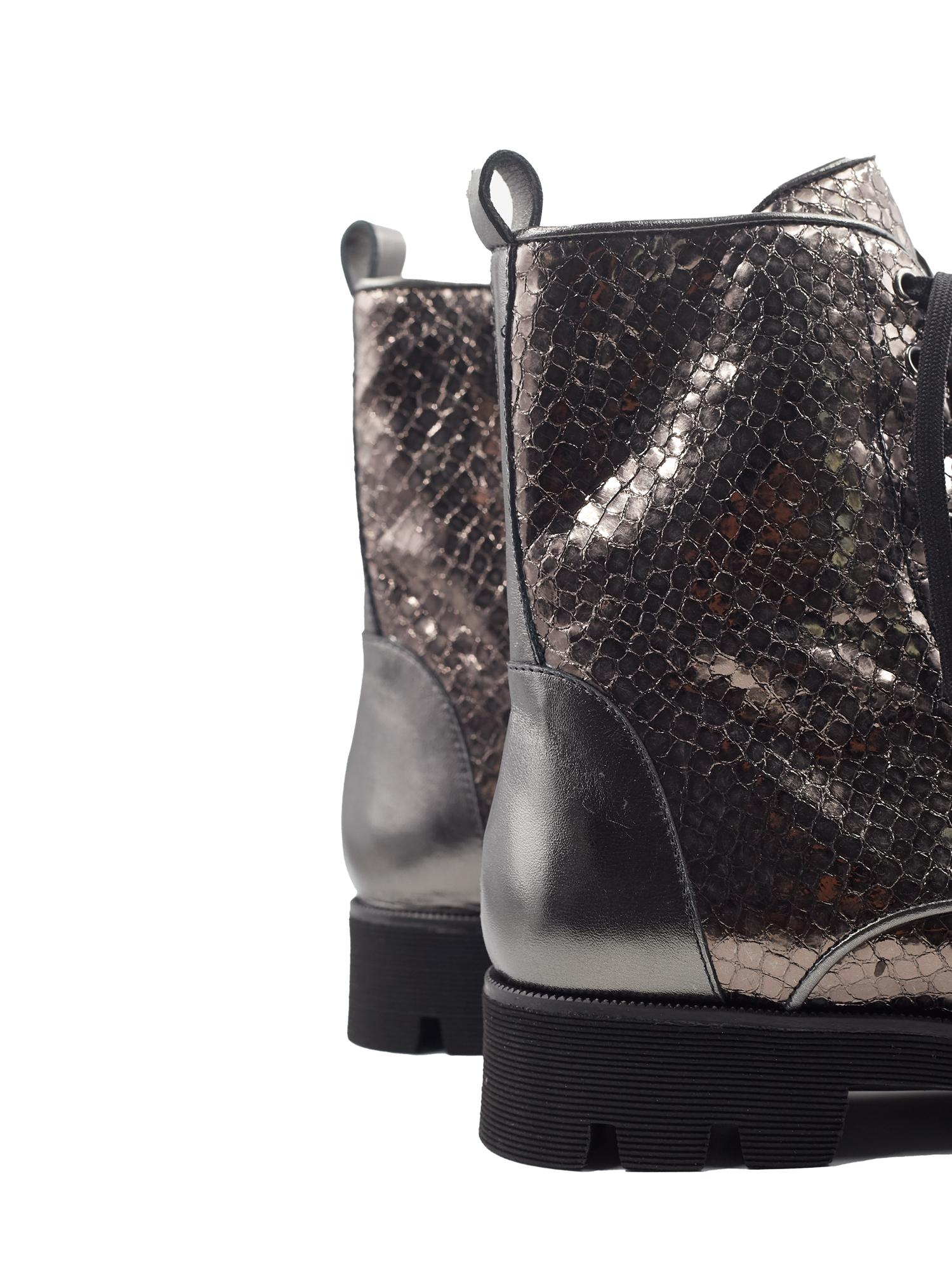 JENNY STEEL WHIPS ANKLE BOOTS