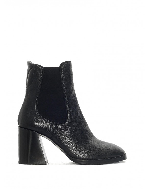PRINCE BLACK HEEL BOOTIE SAMPLE