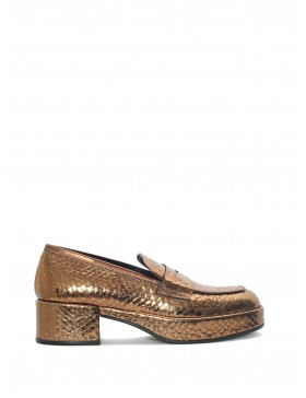 TOSCA BRONZE WHIPS LOAFER
