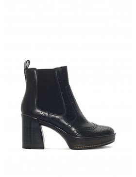 AMELIA BLACK NEPAL ANKLE BOOT