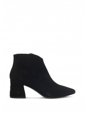 LIEJA BLACK SUEDE ANKLE BOOT