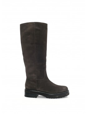 ANDREA VELOR ANTHRACITE BOOT SAMPLE