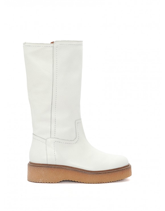 KIMBA MADRAS WHITE SAMPLE BOOT