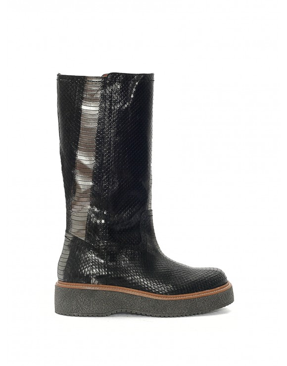 KIMBA AYERS ANTHRACITE SAMPLE BOOT