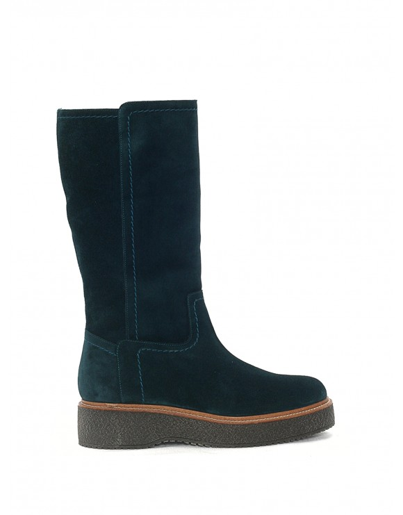 KIMBA VELOR SKY BLUE SAMPLE BOOT
