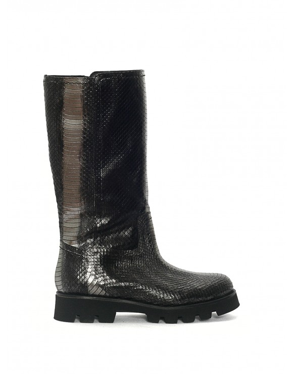 JENNY AYERS ANTHRACITE SAMPLE BOOT