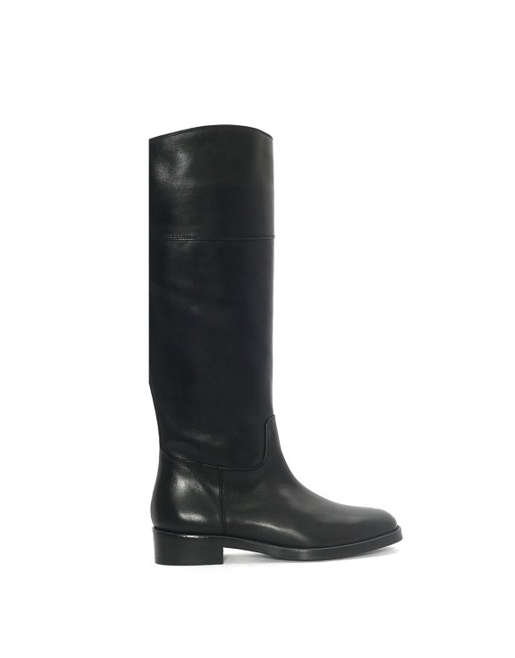 BLACK CARTIER FLAT SAMPLE BOOT