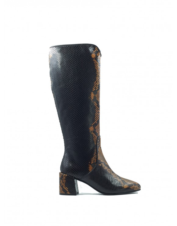 ESTHER TOFFEE PYTON BOOT