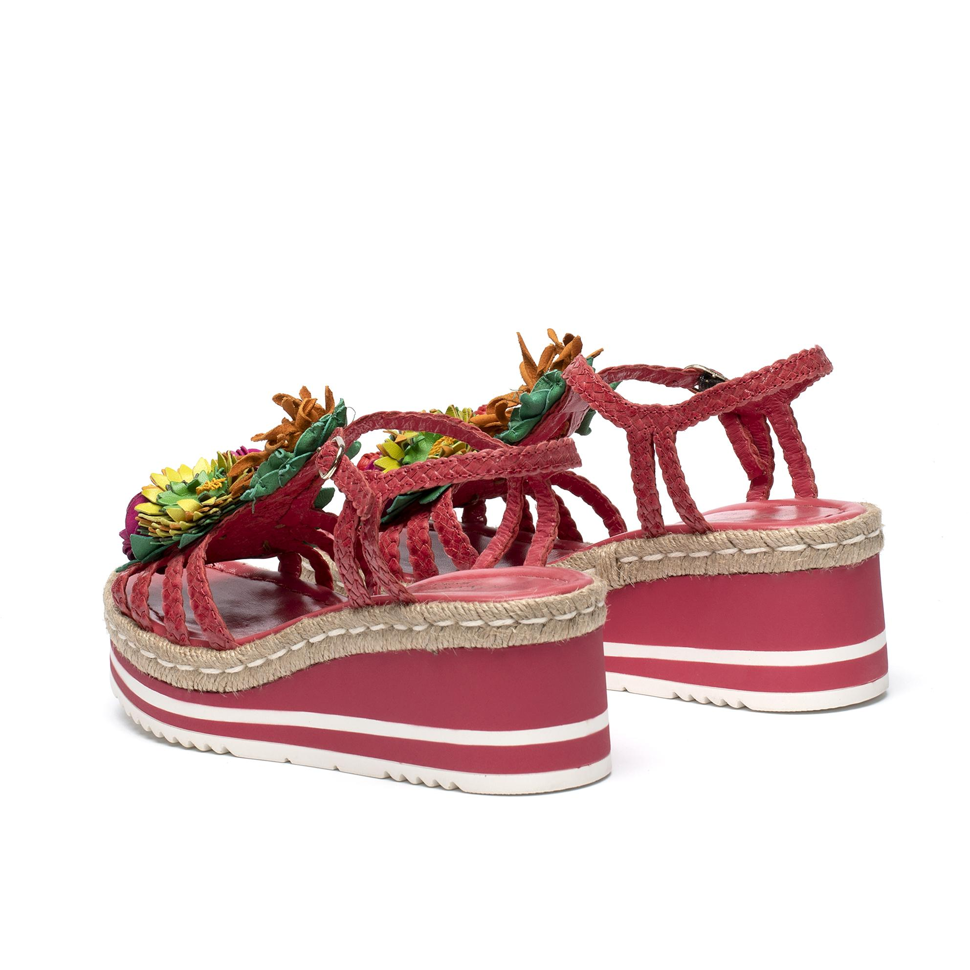 PADOVA STRAWBERRY PLATFORM SANDAL