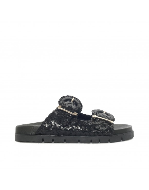 CAIMAN BLACK 8 MM FUSBET SANDAL